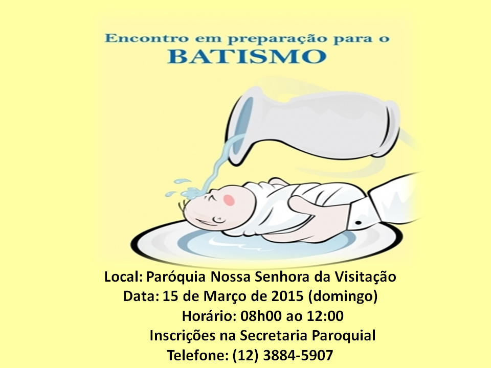 Curso de batismo